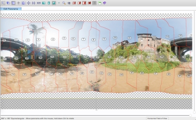 Stitching Process 01 with PTGui