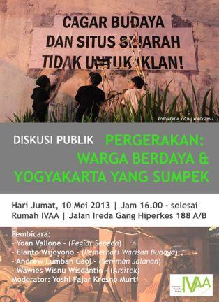 Poster Diskusi Publik