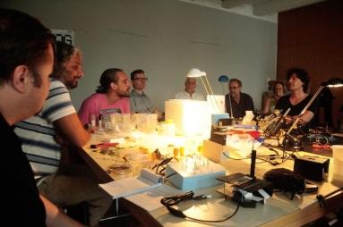 Discussion on Bio Art, Biohacking and interdisciplinary