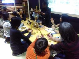 Workshop – GoCircle: How To Make DIY 360-Degree Picture in ICC Gallery Tokyo, Nov 13rd, 2016 © Agung Geger | Agung Firmanto