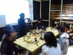 Workshop – GoCircle: How To Make DIY 360-Degree Picture in ICC Gallery Tokyo, Nov 13rd, 2016 © Agung Geger   Agung Firmanto