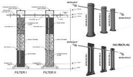 Water Filtration Design Sketch