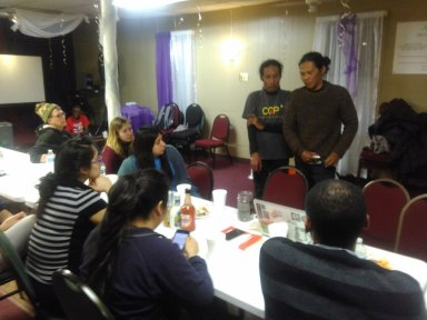 Workshop at the Affirming Love Ministries (ALM) Church