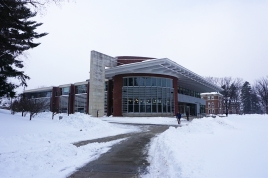 'Whitmans' Dining Hall, The Paresky Student Center, Williams College